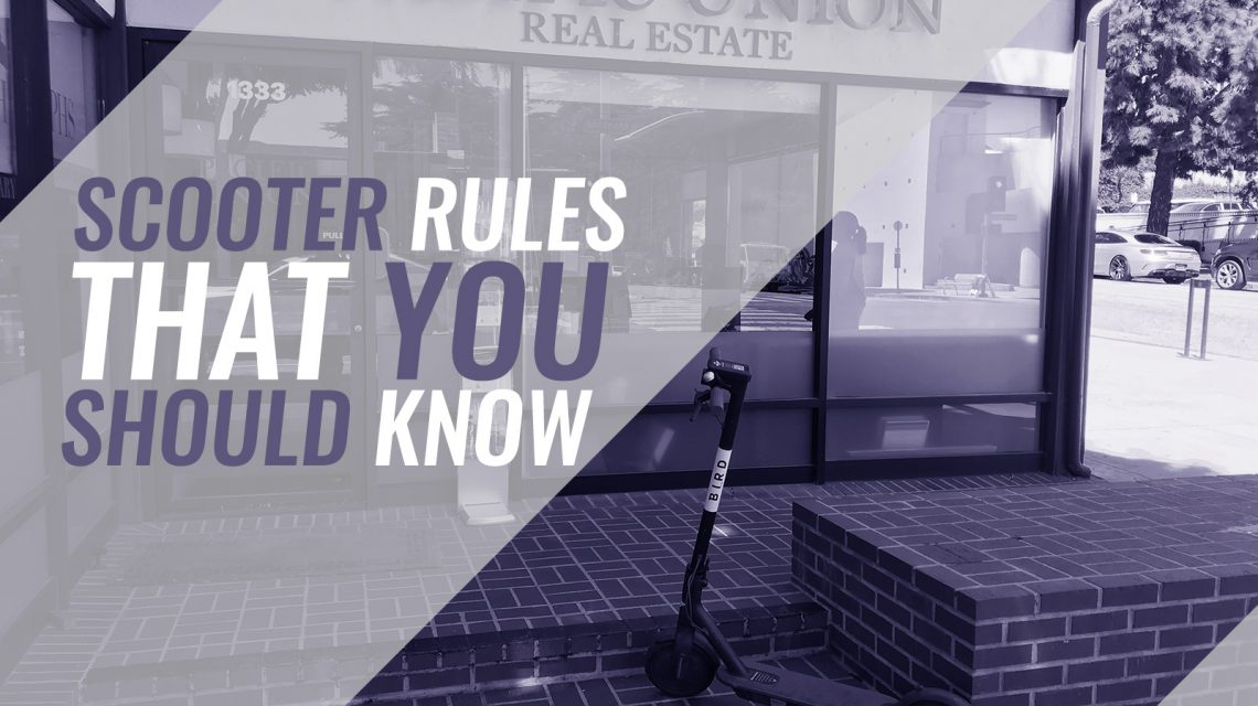 Scooter Rules That You Should Know