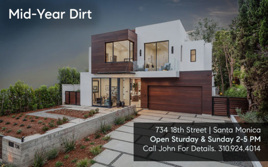 Mid Year Santa Monica Dirt Real Estate Blog